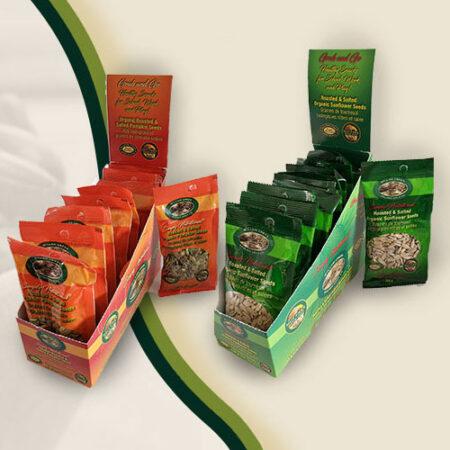 Organic Healthy Snack Case